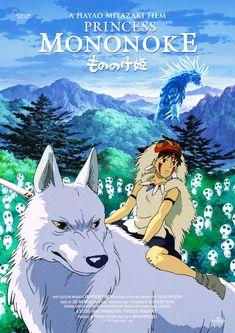 Studio Ghibli Art, Studio Ghibli Movies, Mononoke Forest, Thriller, Studio Ghibli Characters, Tomb Raider Cosplay, Manga Covers, Bleach Anime, Hayao Miyazaki