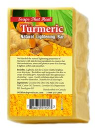 Turmeric Natural Lightening Bar - OilBlends- Traditional Plant-Based Beauty Products