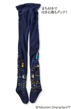 Meeting of Moomin valley tights nice and his companions Moomin | | Felissimo Fashion collection [Fashion Collection]