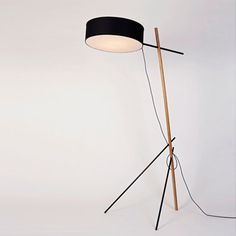 Excel floor lamp by Rich Brilliant Willing for Roll & Hill