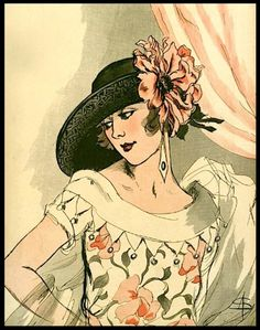 L'Art et la Mode (cover detail) - February 24, 1923 (A. Soulié)