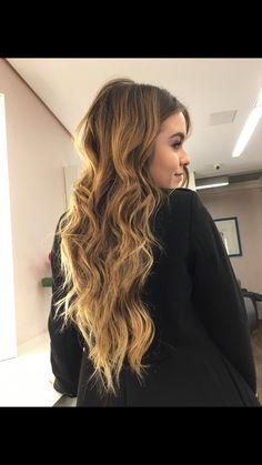 Blonde hair natural effect #mariaBrasil #jobosco