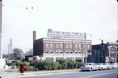 Consumers Power Building in the Fifties