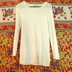 H&M Long Sleeve Shirt Only worn once! Semi see through H&M Tops