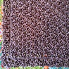 Ravelry: Baby Blossoms pattern by DankFiber Lov this border...it would go well with the Roses and Ivy Blanket / Afghan.
