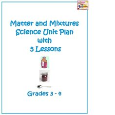 This unit builds on students' previous knowledge of the terms solid, liquid, gas, solute, solvent, dissolve, and solution.  It goes on to expand th...