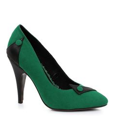 Bettie Page Green Spencer Pump | zulily