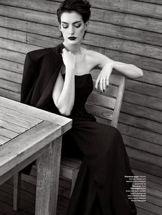 Elle UK November 2014 | Anne Hathaway by Kai Z Feng| @andwhatelse