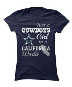 bc1c9a35f Dallas Cowboys - Girl In Enemy Territory Cowboy Girl