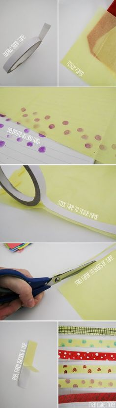 FIKS*D: How to Make ... Washi Tape!