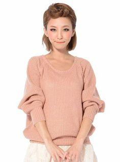 Amazon.co.jp: ドルマンニット レディース ドルマンチュニック ボーダー 学生 通学 かわいい 105630: 服&ファッション小物