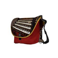 Aeolian-Skinner pipe organ in Mormon Tabernacle Messenger Bags