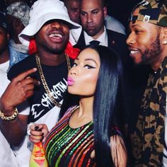 "675 Likes, 10 Comments - LOUSTAR (@loustar718) on Instagram: ""@nickiminaj we missed you so much baby!!! THE ORIGNALS! We all lit up once we locked eyes the love…"""