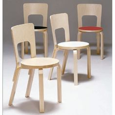 Post war: Artek Alvar Aalto Chairs - Chronology of Alvar Aalto Furniture