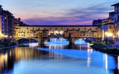 Beautiful Florence Bridge Italy