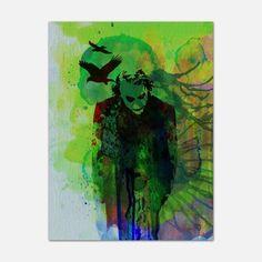 Joker 18x24, $35, now featured on Fab.