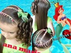Peinados Infantiles Princess Magic Some good ideas Little Girl Hairstyles, Braided Hairstyles, Toddler Hairstyles, Side Pony, Pony Hair, About Hair, Hair Dos, Dreads, Hair Color