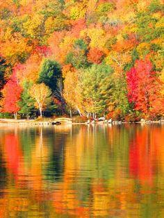 Fall at Newfound Lake