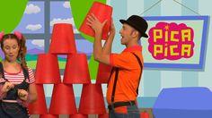 Pica-Pica - A guardar (Videoclip Oficial) - YouTube canción en español para guardar/limpiar. Clean up song in Spanish!