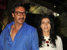 Kajol, on her Facebook page, shared a video in which she is teaching Ajay Devgn Marathi language.