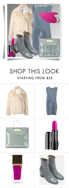 """Patent Leather"" by zhanin ❤ liked on Polyvore featuring Golden Goose, Marni, Balenciaga, Lancôme, Tom Ford and CC"