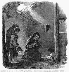 Irish Potato Famine Newspaper