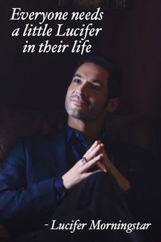 Everyone needs a little Lucifer in their life. Tom Ellis Lucifer, Lucifer Mom, Preston, Shadowhunters, Memes, Morning Star, Series Movies, Book Series, Humanity Restored
