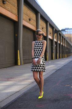 Dress: ASOS. Shoes: Kate Spade. Jacket: Zara. Sunglasses: Karen Walker. Purse: Loeffler Randall c/o. Jewelry: Hermes, David Yurman, Pomellato, Michele Watch, Stella and Dot, YSL.  apr