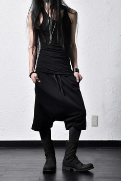 "deviant-nagoya-store-info: ""SHORT PANT // By H. New York TANKTOP // A.F ARTEFACT BOOTS // 10sei0otto ​ Accessories >> Node by KUDO SHUJI """