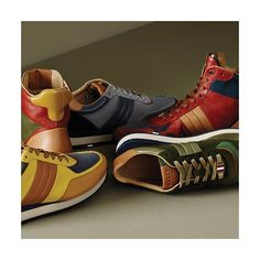 Discover sneakers in autumnal shades at Bally.com, a must have for the season. #NewIn #BallyCollection