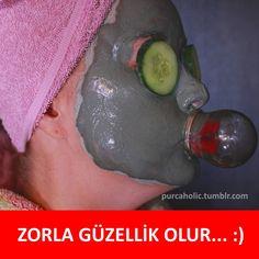 ZORLA GÜZELLİK OLUR... :) #mizah #matrak #komik #espri #şaka #gırgır #komiksözler #caps