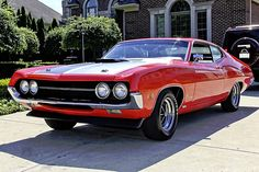 Engine: 429 V8. Transmission: 4 Speed Manual. Price: US $64,900.00 BUY NOW. From 1968 to 1976, the Ford Torino has great muscle car editions, especially those with a cobra jet engine. The 1970 version had a new design with sharper looks and Coke bottle styling. With 13 models available in 1970, the 429CJ was one …