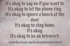 Nothing wrong with being an introvert. Infj Infp, Intp, Introvert, Highly Sensitive Person, Assertiveness, Its Okay, Intuition, Anxiety, Personality