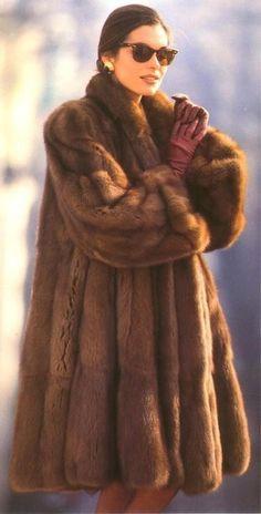 WOW! I wonder how many animals they had to kill to get this coat...looks like PETA has dropped the ball.