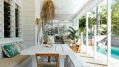 A charming renovation of a Byron Bay beach house.