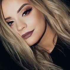 Makeup Goals, Makeup Tips, Beauty Makeup, Hair Makeup, Hair Beauty, Makeup Ideas, Cute Makeup, Simple Makeup, Beauty 101