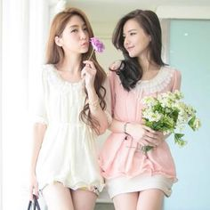 Buy 'Tokyo Fashion – Elbow-Sleeve Frilled-Collar Chiffon Top' with Free International Shipping at YesStyle.com. Browse and shop for thousands of Asian fashion items from Taiwan and more!