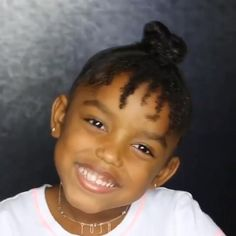 Little Girls Natural Hairstyles, Cute Toddler Hairstyles, Kids Curly Hairstyles, Baby Girl Hairstyles, Mixed Kids Hairstyles, Curly Hair Styles, Natural Hair Styles, Natural Hair Puff, Natural Hair Twists
