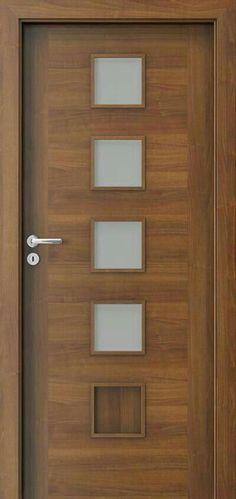 Interior Slab Doors | Wood Storm Doors | Prehung Doors 20190504 Flush Door Design, Home Door Design, Bedroom Door Design, Wooden Door Design, Door Design Interior, Main Door Design, Interior Stairs, Modern Wooden Doors, Wood Doors