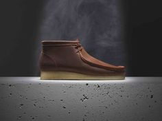 Clarks x Horween - dimpled leather Wallabee