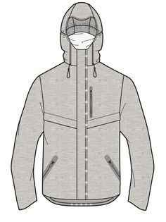 AW17/18 WGSN Men's active wear key items // LED jacket