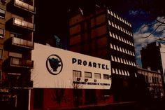 Fachada de Canal 13, Buenos Aires, década del 70.