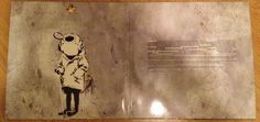 Banksy - gatefold CD Think Tank-Blur, 2003