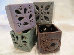 Tea Light Luminaries Created by Linda Leonforte