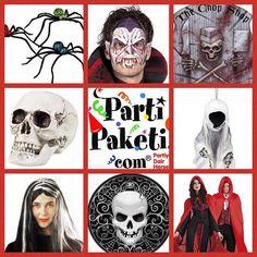 Halloween partileri için kostüm, aksesuar, dekor ne ararsanız PartiPaketi mağazaları ve www.partipaketi.com da! #halloween #halloweenpartisi #cadılarbayramı #partimalzemeleri #kostüm #vampir #cadı #hayalet #iskelet #kurukafa #korkupartisi #zombi #ölügelin #partimağazası #şeytan #halloweencostume #halloweenkostümleri #halloweenkostumleri #halloweenparti #cadılarbayramıkostümleri