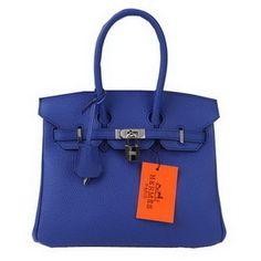 aa5e7c941b6c Wholesale Réplique Hermes Birkin 25CM Sacs fourre-tout bleu Silve en cuir  d origine - €232.15   réplique sac a main, sac a main pas cher, sac de  marque ...