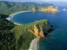 Hermosa playa en Machalilla