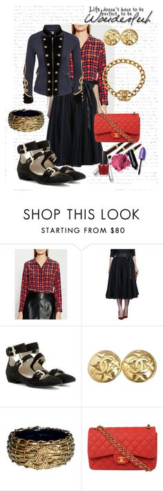 """Perfect"" by pj-cox on Polyvore featuring Equipment, eShakti, Ralph Lauren, See by Chloé, Chanel and OPI"