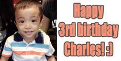 Happy Birthday to my godchild (Charles)! (9/5/2014)