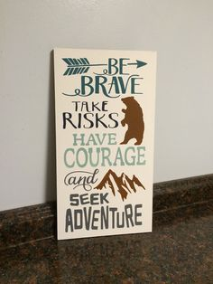 be brave bear nursery arrow nursery outdoors by JessieAnnCreations